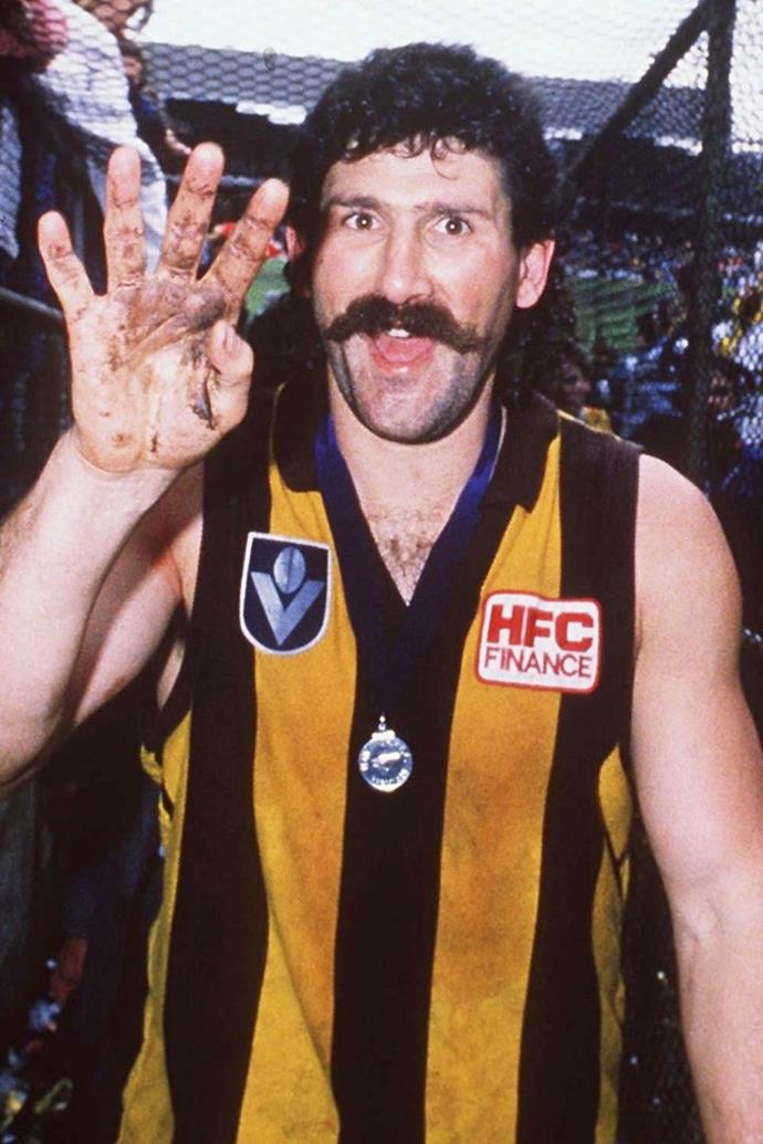 **Robert 'Dippa' Dipierdomenico** <br><br> *TV Blackbox* reports that the ex-AFL star 'Dippa' is headed for the jungle. Let's hope he's also inducted into the I'm A Celeb Hall of Fame after the show ends.