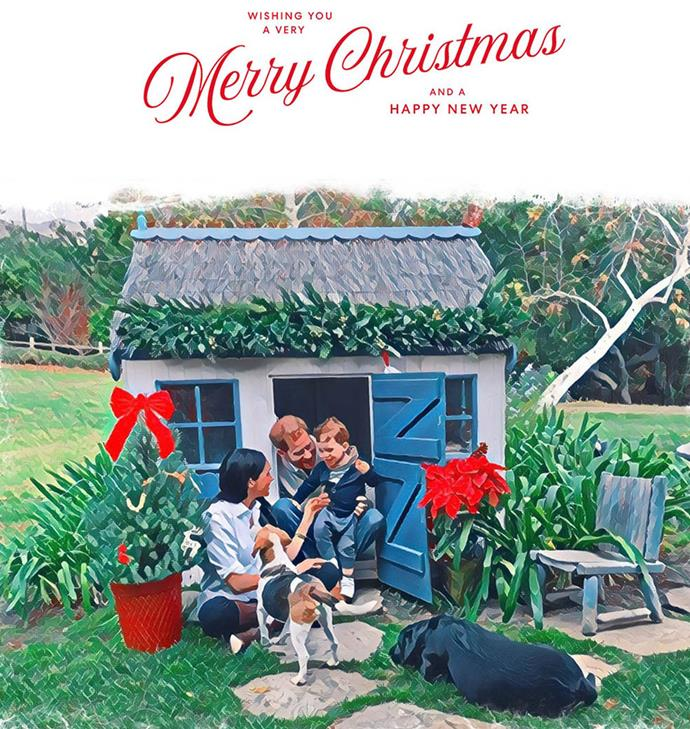 Season's greetings from the Sussexes.