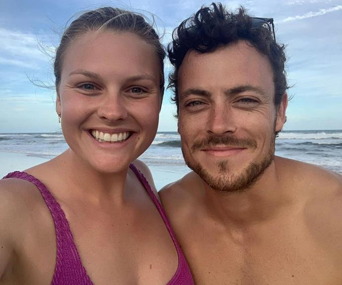 """Rancho relaxo! *Home And Away*'s [resident love birds Sophie Dillman and Patrick O'Connor](https://www.nowtolove.com.au/celebrity/home-and-away/patrick-oconnor-sophie-dillman-relationship-62319