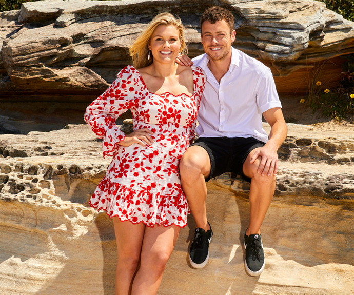 The couple, who were both born in Queensland, now live together in Sydney and have worked closely on set for years.