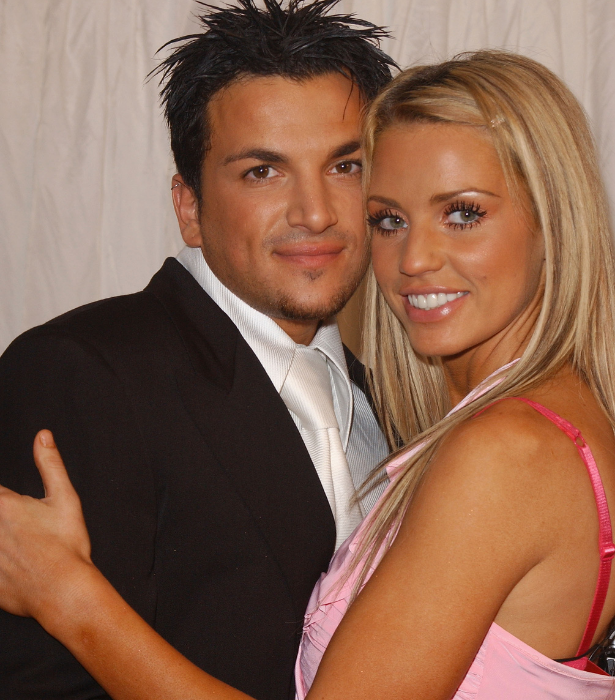 Peter and Katie famously dated after meeting on the show.