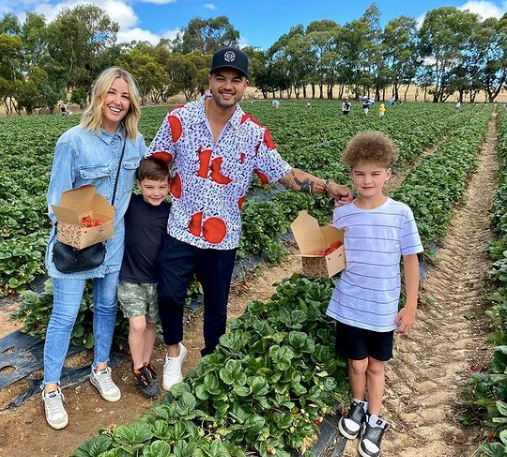 Over the Christmas 2020 break, the Sebastian clan made the most of the summery weather with some strawberry picking - those boys are taking after Guy more and more each day!