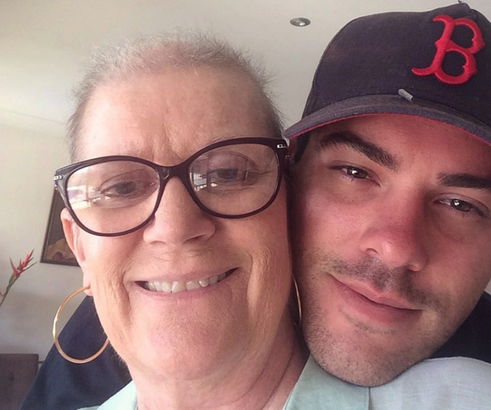 Jake shared his last photo with his mum Robyn.