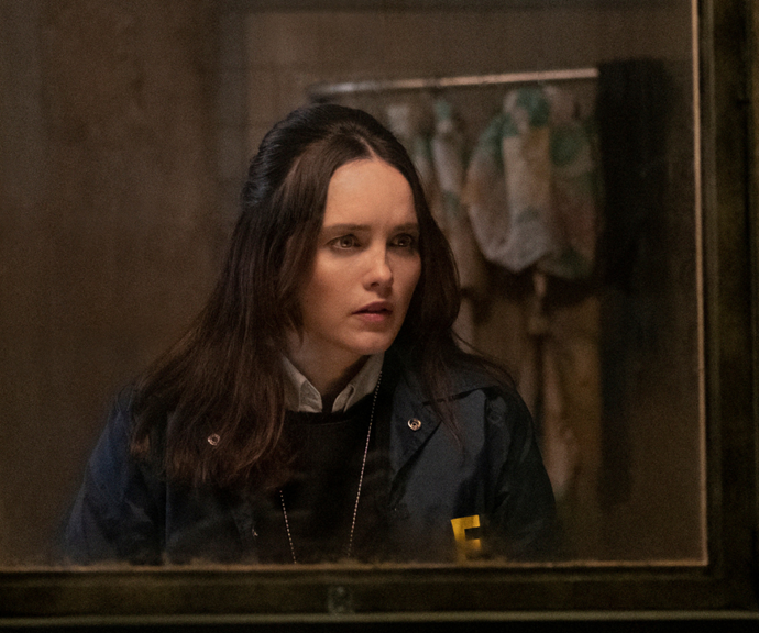 Rebecca plays FBI agent Clarice in the new haunting series.