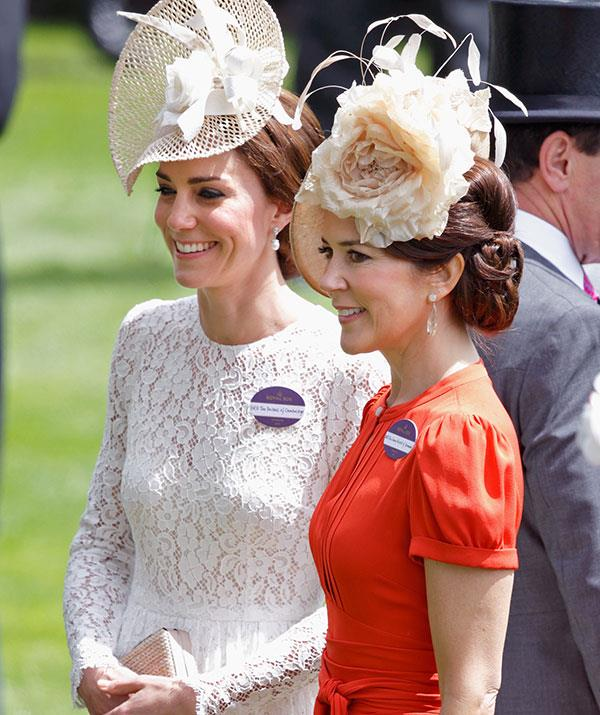 Kate and Mary made for such a dazzling duo at Royal Ascot in 2016.