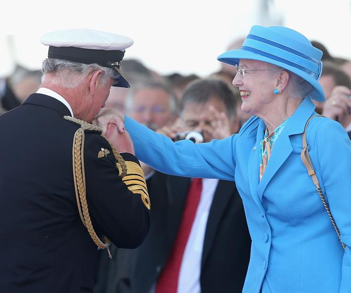 Prince Charles is also very fond of Queen Margrethe.