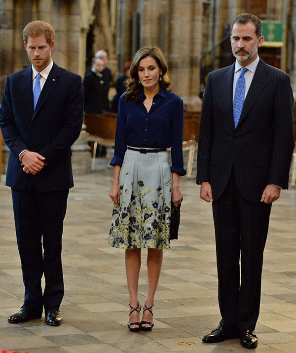 Before he stepped down from his royal duties, Prince Harry was tasked with hosting several high profile European Royals, including Queen Letizia and King Felipe of Spain during their 2017 visit to the UK.