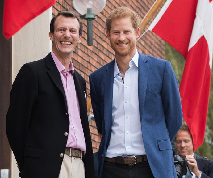 Prince Joachim of Denmark and Prince Harry sure know a thing or two about being the younger brother of the future king. The jovial duo got on like a house on fire during Prince Harry's visit to Copenhagen in 2017.