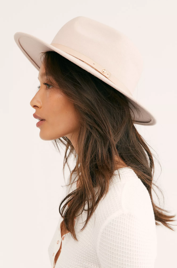 "Free People's Wythe Leather Band Felt Hat is slightly on the pricier side, but its clean finish and wool felt fabric will keep its shape and trendiness for seasons to come. $75.40, **[buy it online here.](https://www.freepeople.com/shop/wythe-leather-band-felt-hat/?color=013&countryCode=au&currency=AUD&size=One%20Size&type=REGULAR&quantity=1|target=""_blank""