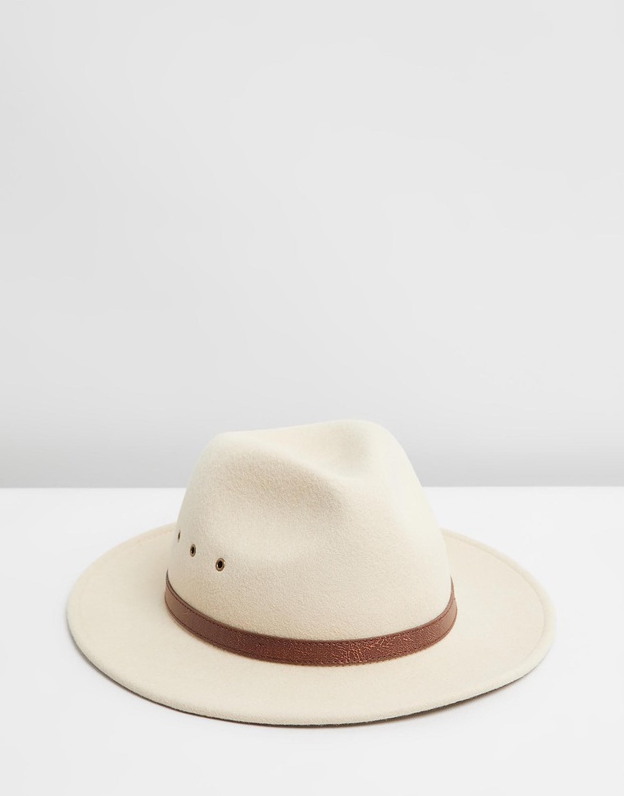 "Billy Bones Club is known for its tip-top headwear - their C.R.E.A.M Fedora sums the feat up nicely. $89.95, **[buy it online via The Iconic here.](https://www.theiconic.com.au/c-r-e-a-m-fedora-1112460.html|target=""_blank""