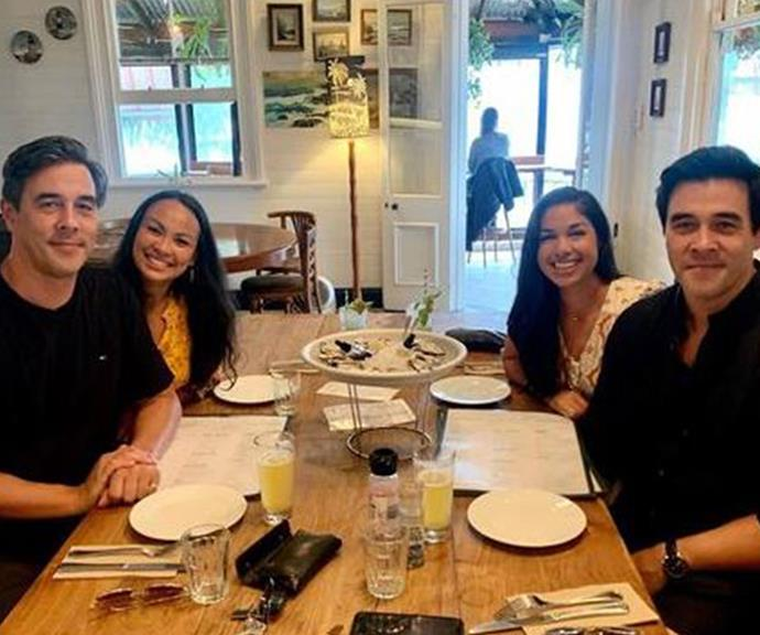 "The ultimate double date! The brothers rung in the new year with a romantic meal with their partners, Mae and Sarah. ""From us to you, happy new year lovers ❤️,"" Nick penned alongside this sweet snap."