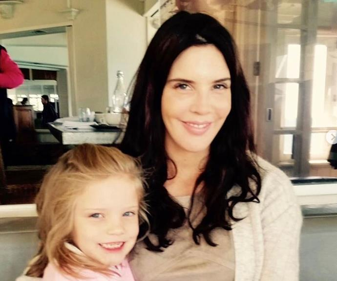 Tracey shares nine-year-old daughter Grace with her ex-husband.