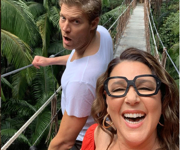 This is *I'm A Celebrity's* seventh season with Chris and Julia has co-hosts.
