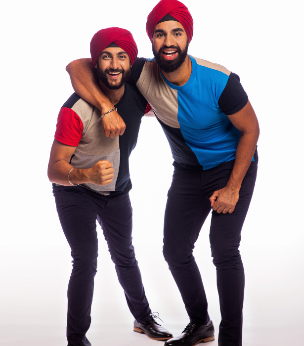 **Jaskirat and Anurag, NSW** <br><br> Having met at a Summer Sikh youth camp 10 years ago, best mates Jaskirat and Anurag are extremely proud of their culture and want to show Australia what the Sikh fighting spirit is all about!