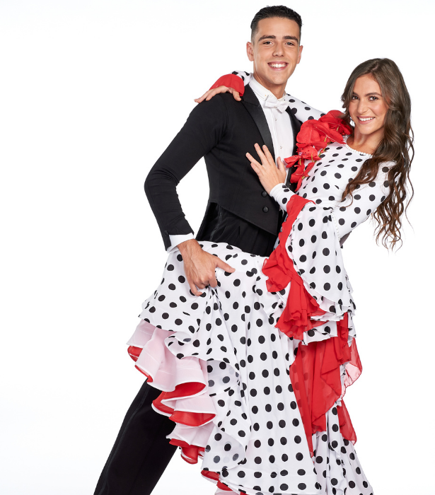 **Jordan and Violeta, VIC** <br><br> Dance partners turned racers, Jordan and Violeta are ready to waltz ahead of the competition and take out the top prize. Having dated in high school, the pair are now close friends and dance partners who have travelled the globe, representing Australia at the highest level of dance.
