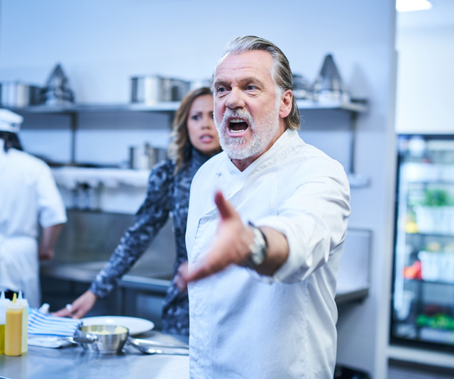 """**Aftertaste, ABC** <br>  Move over, Gordon Ramsay – here comes Easton West. In new comedy series *Aftertaste*, Erik Thomson plays a very famous, very angry chef, whose international career implodes when he blows his top onetoo many times.<br>  """"He's kind of cancelled,"""" Erik, 53, explains to *TV WEEK*.<br>  """"He has nowhere else to go but to his alcoholic hoarder of a father in the Adelaide Hills and stay in his childhood bedroom.""""<br>  Easton runs into his niece Diana (Natalie Abbott),a talented pastry chef, and decides he could use herto resurrect his career. The wealthy Margot (Rachel Griffiths) is also part of his plans. But nothing unfolds the way he expects it to.<br>  """"Rachel was so fantastic,"""" Erik adds. """"She knew exactly what she was doing.""""<br>  For Erik, it's a very different role from the ones he played in *Packed To The Rafters* and *800 Words*.<br>  """"It just appealed to meto do something a littlebit irreverent,"""" he says."""