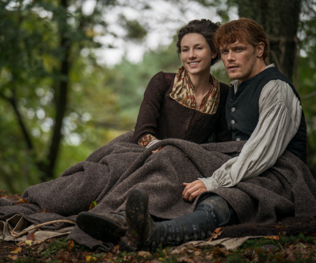 **Outlander (S5), Foxtel**<br> Throughout four seasons, time traveller Claire Randall (Caitriona Balfe) and her Scottish Highlander husband, Jamie Fraser (Sam Heughan) have been through a lot, time zones included.<br>  Now, the couple are residing in America, fighting to retain their home at Fraser's Ridge while the American Revolutionary War looms over the horizon.  Meanwhile, Claire and Jamie's daughter, Brianna (Sophie Skelton) is pregnant by either her partner, Roger Mackenzie (Richard Rankin) or her rapist, Steven Bonnet (Ed Speelers). <br> While Roger and Brianna have had a tumultuous relationship, which saw Jamie sell him to the Mohawk Tribe after a case of mistaken identity, they're now back together.  <br> With time travel on the cards, the world truly is full of opportunity for the family.