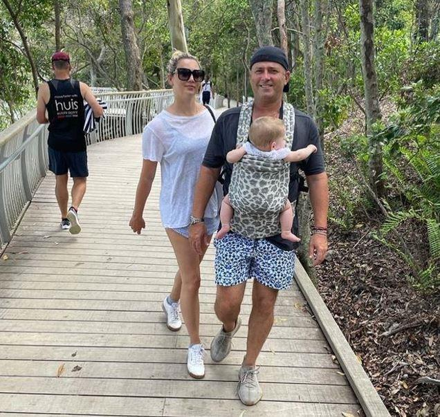 Karl and Jasmine have been holidaying up in Queensland together.