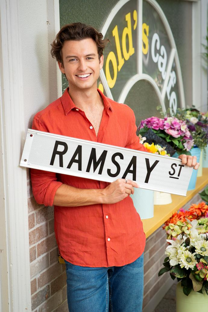 Cameron will follow in his sisters footsteps, with a guest role on *Neighbours* in 2021.