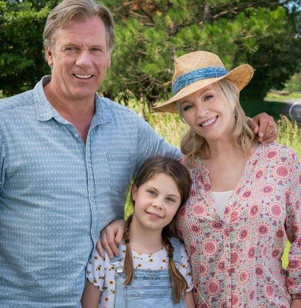 Willow Speers (pictured centre) will play Dave and Julie's youngest daughter, Ruby Rafter, in the new series.