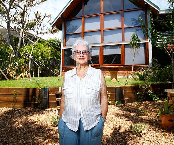 Plucky Pam says moving to a retirement home was never an option