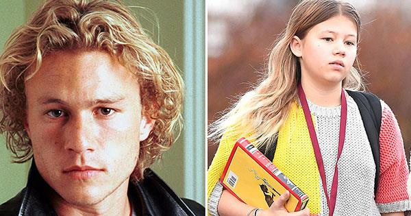 15-year-old Matilda Ledger is the spitting image of her late father, Heath Ledger