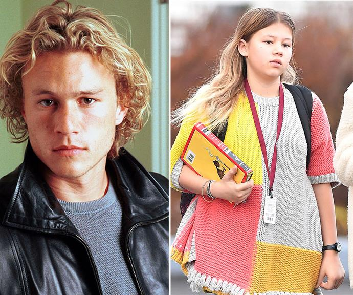 """For Heath, becoming a father was a turning point in his life with the star admitting in 2006 that family """"is everything to me – the most important thing I do."""""""