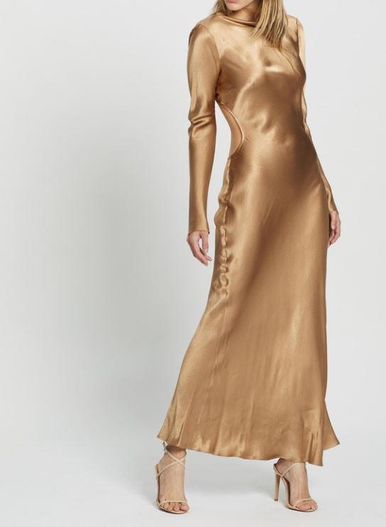 "Bec + Bridge Aubrey LS Midi Dress, $180. **[Buy it online here](https://www.theiconic.com.au/aubrey-ls-midi-dress-1078141.html|target=""_blank""|rel=""nofollow"")**"