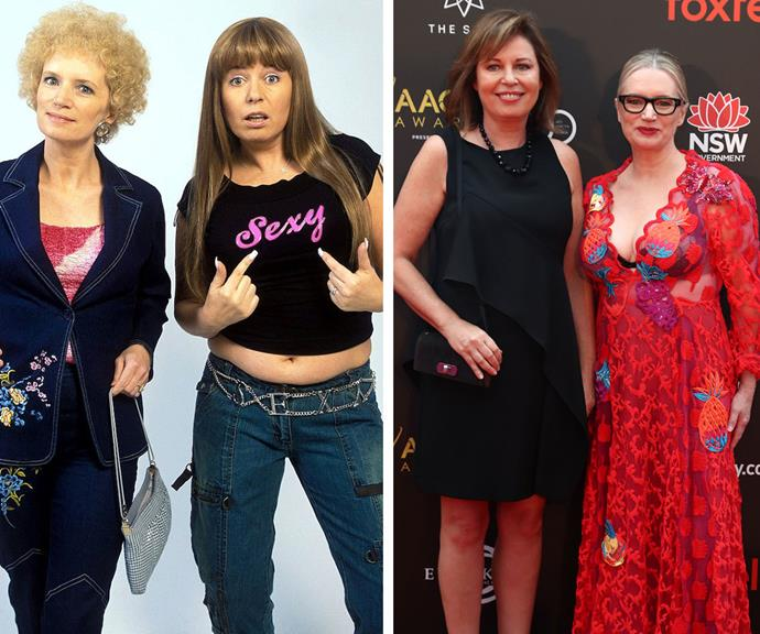The foxy ladies, then and now!