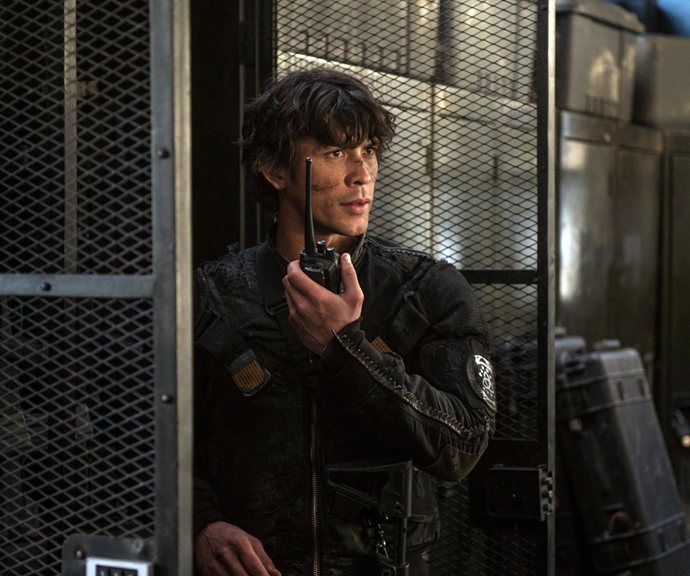 **Bellamy Blake in The 100<br>** When we first met the 100 teens sent to a dystopian Earth to determine its habitability Bellamy was a self-centred and reckless character who would have happily sacrificed his own mother if it meant saving himself. As time passed, however, he became a fearless leader and loyal best friend to Clarke.