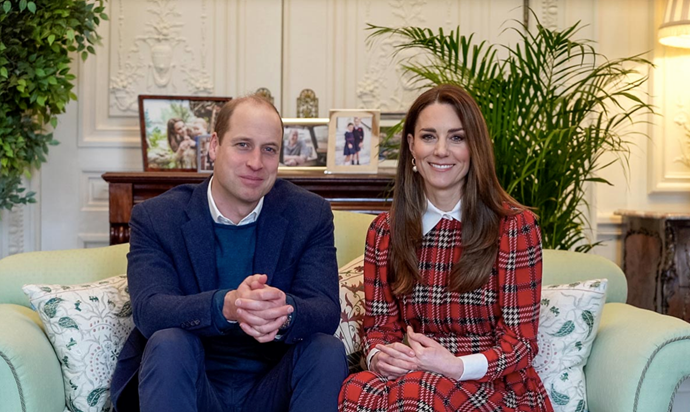 Kate & Wills made a special appearance for Scotland's traditional Burns Night celebrations.