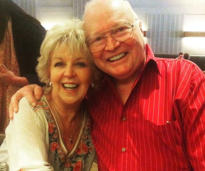 """""""46 years with this wonderful man. Happy Anniversary xx,"""" Patti mused on their most recent wedding anniversary."""