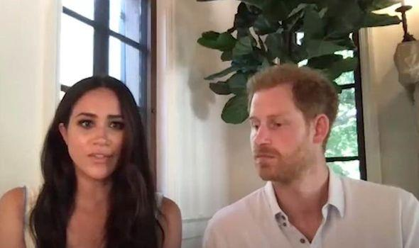 Meghan enjoyed spending time with her family, including her dogs, during lockdown.