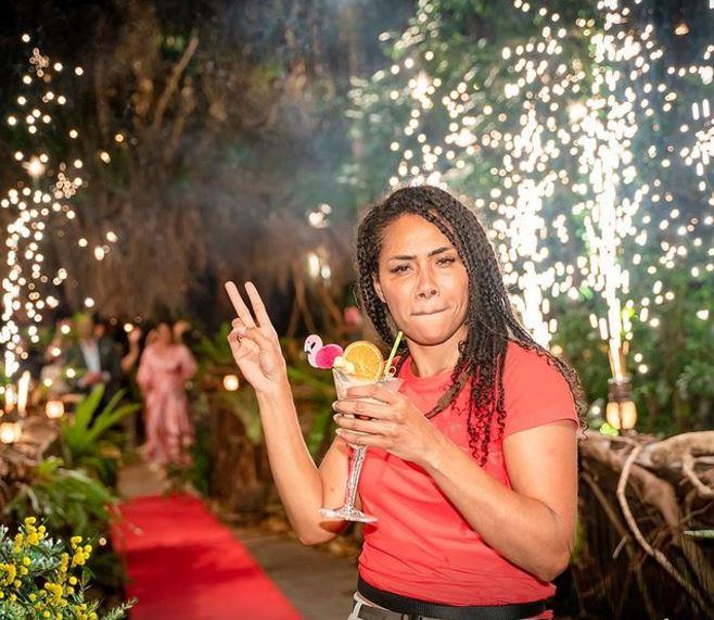 """Paulini was booted from camp in the now-traditional flinging-into-a-lake ceremony. """"The past few weeks has just been incredible for me. I've actually told these guys things that I've never told my family and friends,"""" Paulini said of her time in the jungle. We'll miss her kick-ass attitude around camp!"""