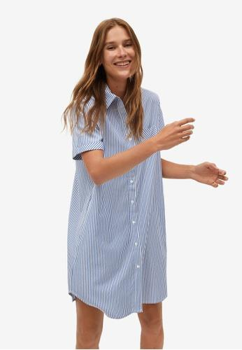 "Mango striped shirt dress, $79.95. **[Buy it online here](https://shop.mango.com/au/women/dresses-and-jumpsuits-short/striped-shirt-dress_77052882.html target=""_blank"" rel=""nofollow"")**"