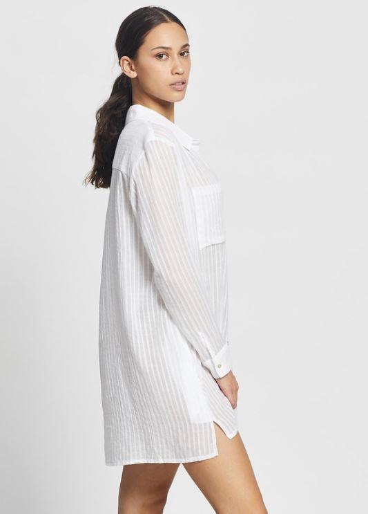 "Rusty sunrise beach shirt dress, $79.99. **[Buy it online here](https://www.theiconic.com.au/sunrise-beach-shirt-dress-1185028.html target=""_blank"" rel=""nofollow"")**"