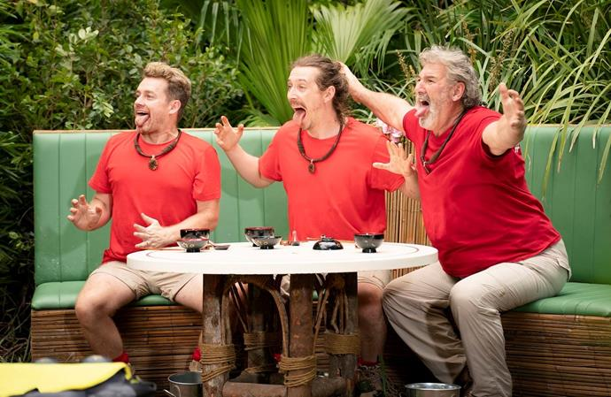 Grant has been baring all on *I'm A Celeb*.