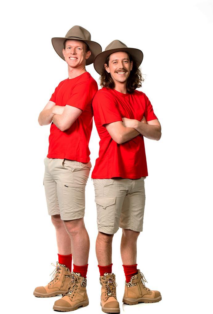 *Gogglebox* stars Adam Densten and Symon Lovett took home $15,000 each.