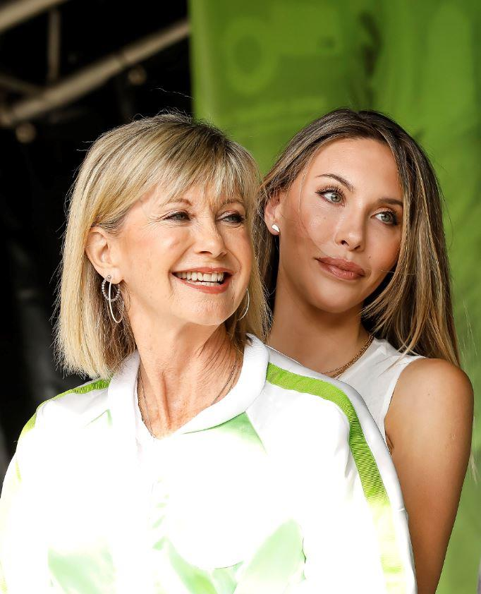 Olivia and daughter Chloe shared a rare joined interview with the *Herald Sun* this week where they revealed they would not be receiving the COVID-19 vaccine at this stage.