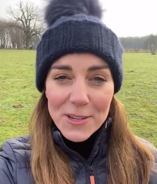 Kate shared an unexpected video in selfie mode in a casual ensemble.