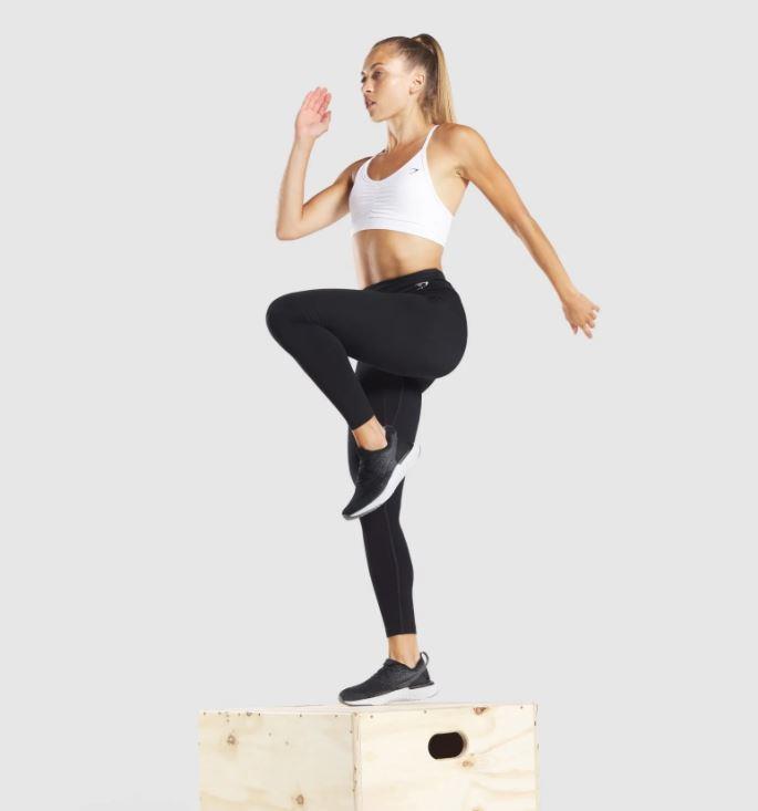 """Gymshark Training Leggings, $50. **[Buy them online here](https://au.gymshark.com/products/gymshark-training-leggings-black-white-logo target=""""_blank"""" rel=""""nofollow"""")**"""