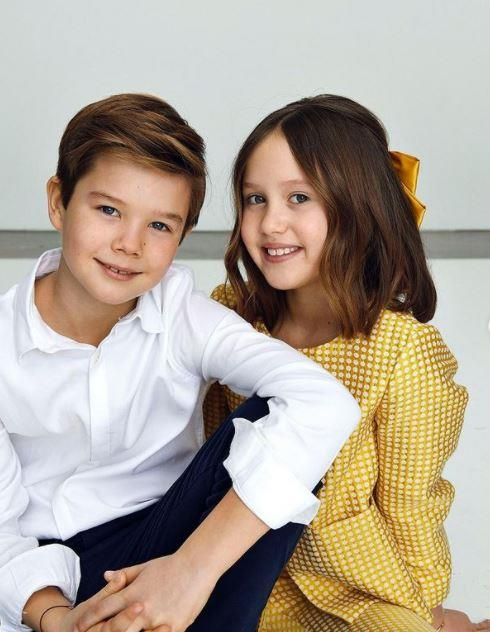 The twins were pictured in official new stills for their 10th birthday.