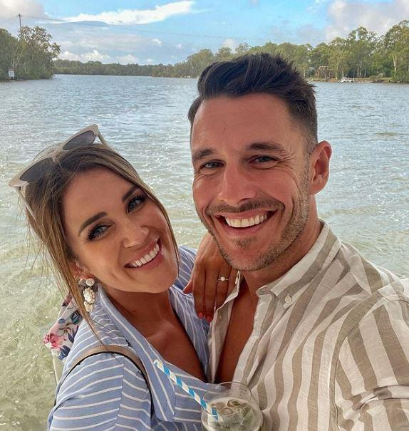Georgia, who is engaged to her *Bachelorette* love Lee Elliot, was flooded with comments of support.