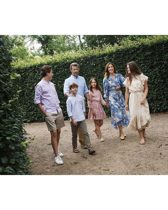 The kids are most definitely alright as the family enjoyed a special family holiday in their home country in the summer of 2020. Despite COVID restricting them from travelling, the tight-knit royals shared some special memories together - as was made clear in these stunning images from the palace at the time.