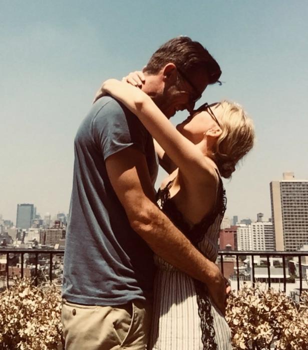 """""""I heart NY,"""" Kylie captioned the sweet snap."""