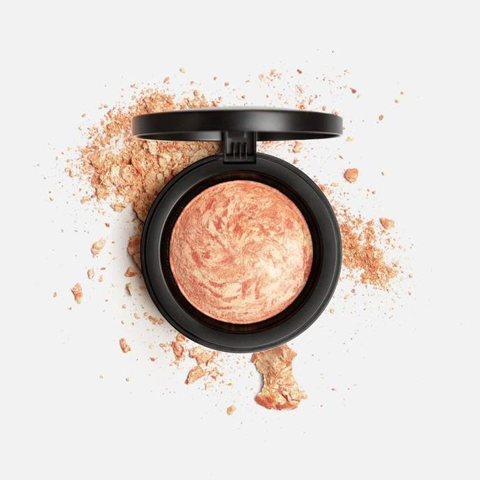 "Mirenesse Cosmetics marble mineral blush face powder in shade Carrara Coral, $66. **[Buy it online here](https://www.mirenesse.com/products/mb2n-marble-mineral-blush-face-powder|target=""_blank""