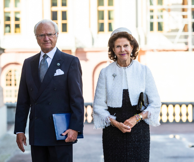 King Gustaf and Queen Silvia have been wed for over three decades.