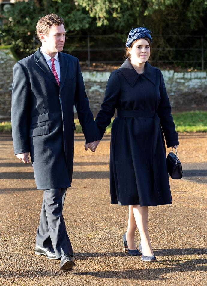Eugenie and Jack are officially proud parents!