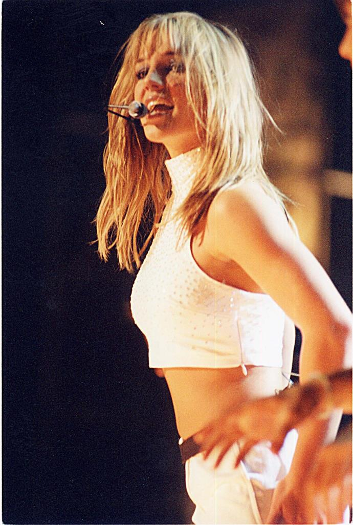 Britney's rise to fame was exponential.