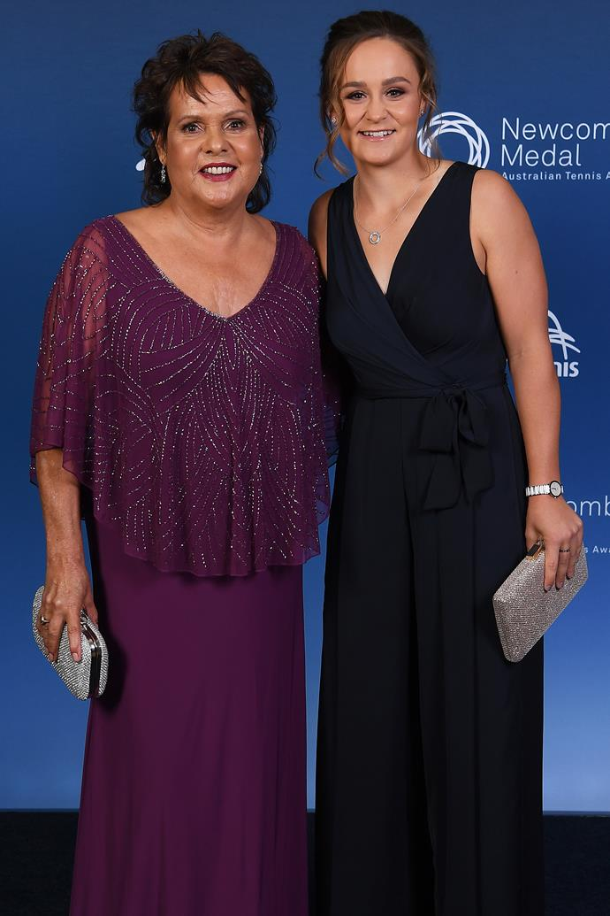 Evonne became Ash Barty's mentor in later years.